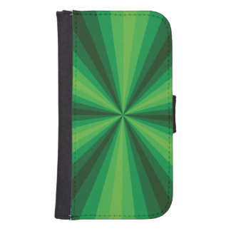 Optical Illusion Green Smartphone Wallet Case