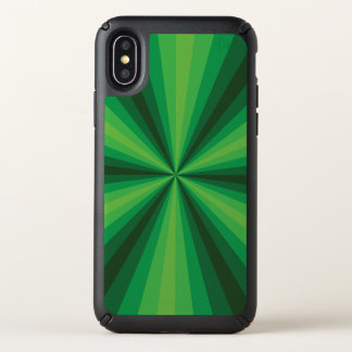 Optical Illusion Green Speck Phone Case