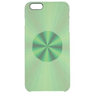 Optical Illusion Green Uncommon iPhone Case