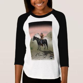 Optical illusion horses T-Shirt