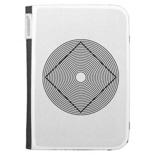 Optical Illusion Kindle Folio Case