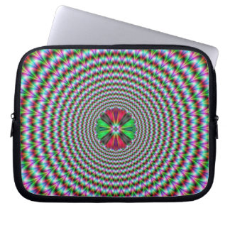 Optical Illusion Laptop Sleeve
