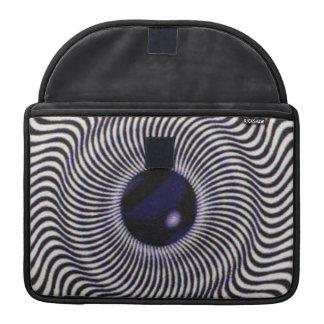 Optical Illusion MacBook Pro Sleeve