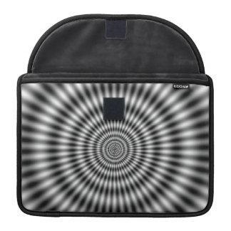Optical Illusion MacBook Pro Sleeves