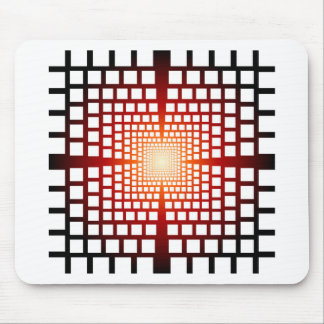Optical illusion mouse pad