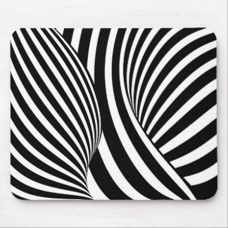 Optical Illusion Mouse Pads