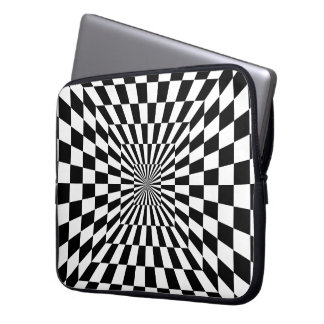 Optical Illusion Neoprene Laptop Sleeve 15 inch