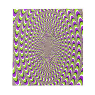 Optical Illusion Note Pad