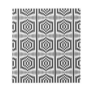 Optical Illusion Note Pads