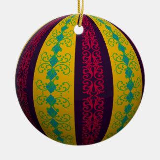 Optical Illusion Ornamental Stripe Ornament