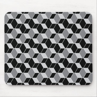 Optical Illusion Patterned Mouse Pad