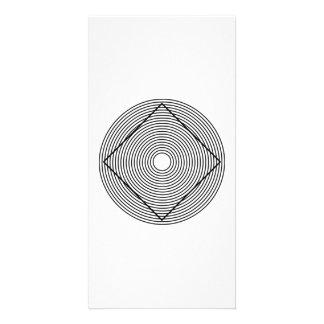 Optical Illusion Customized Photo Card