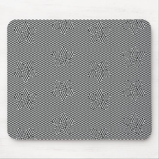 Optical Illusion Posies Mousepads