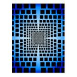 Optical Illusion Postcard