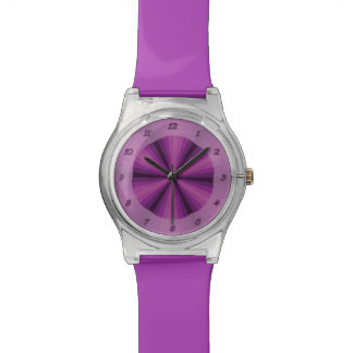 Optical Illusion Purple May28th Watch