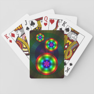 Optical Illusion Rainbow Classic Playing Cards