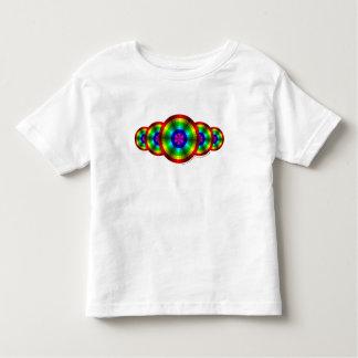 Optical Illusion Rainbow Kids and Baby Light Shirt