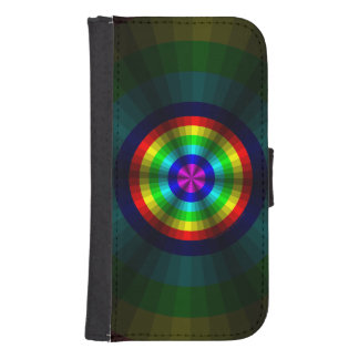 Optical Illusion Rainbow Smartphone Wallet Case Galaxy S4 Wallet Cases