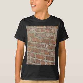 Optical Illusion Red brick wall T-Shirt