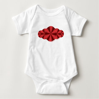Optical Illusion Red Kid's and Baby Light Shirt