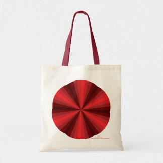 Optical Illusion Red Light Tote Bag