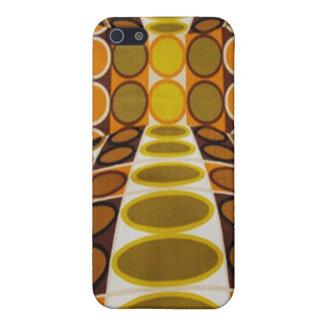 Optical Illusion Retro Design iPhone SE/5/5s Cover