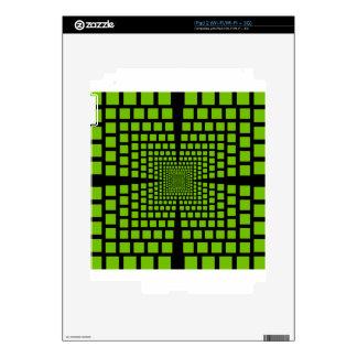 Optical illusion skins for the iPad 2