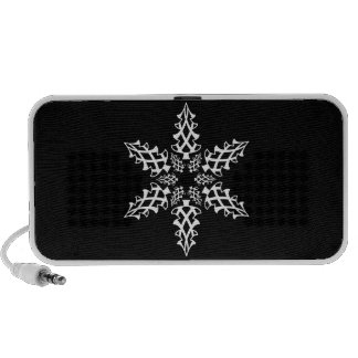 Optical Illusion Snowflake Christmas Elegant Speaker System
