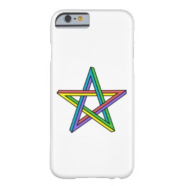 Optical illusion star barely there iPhone 6 case