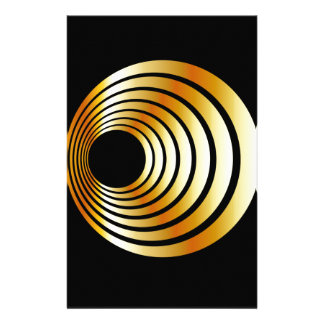 optical illusion stationery