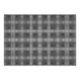 Optical Illusion Stitching Design 5x7 Paper Invitation Card