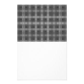 Optical Illusion Stitching Design Stationery