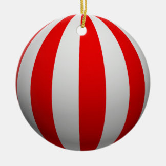 Optical Illusion Stripe Christmas Ornaments