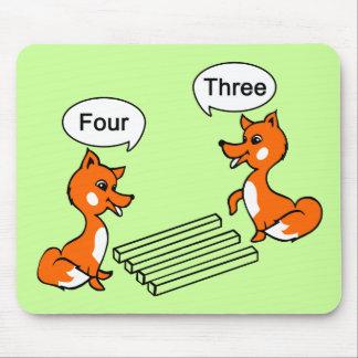 Optical illusion Trick Mouse Pad