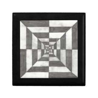 optical illusion trinket box
