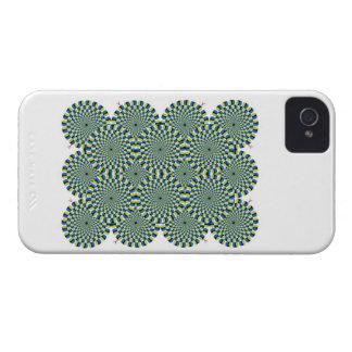 Optical Illusion Wheels Blackberry Bold Case