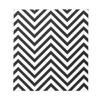 Optical illusion with lines memo note pads