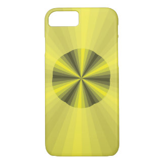 Optical Illusion Yellow Case-Mate Case