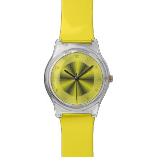 Optical Illusion Yellow May28th Watch