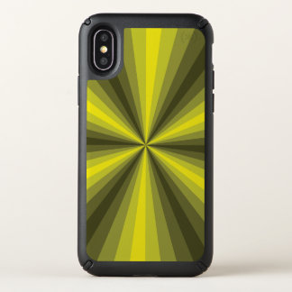 Optical Illusion Yellow Speck Phone Case