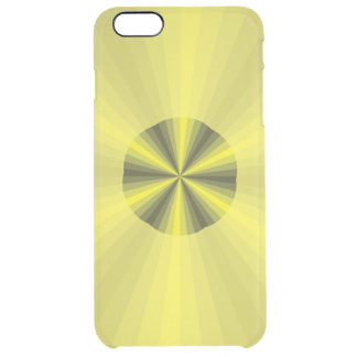 Optical Illusion Yellow Uncommon iPhone Case