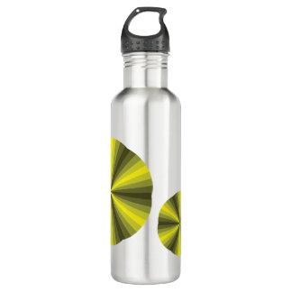Optical Illusion Yellow Water Bottle