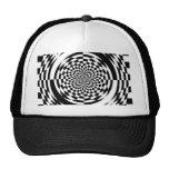 Optical illusions mesh hat