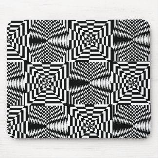 Optical Illusions Mouse Pad