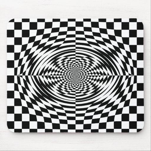 Optical illusions mousepads