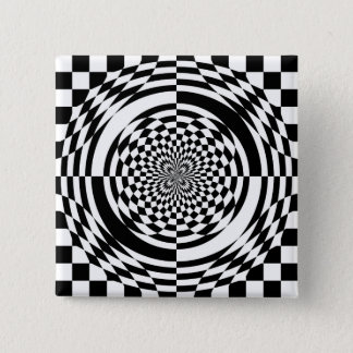 Optical illusions pinback button