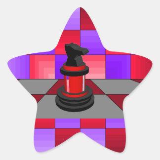 Optical Knight Chess CricketDiane 2013 Star Sticker