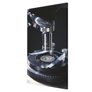 Optical Microscope Canvas Print