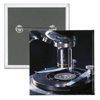 Optical Microscope Pinback Button