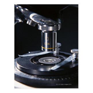 Optical Microscope Post Card